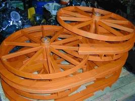Traction Wheel Turn