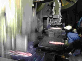 Chain Link Forging